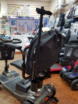 Metal Scooter Stick/Crutch Holder